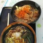 nikkouguchipa-kingueriakudaribaiteninshokuko-na- - にく蕎麦天ぷらトッピング690➕110
