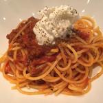 カバルッチョベルデ - ボローニャ風ミートソースのスパゲティ