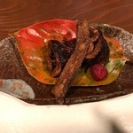 Kokochimonaka - 秋刀魚のわた焼き