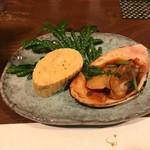 Kokochimonaka - 萬寿貝とだし巻き
