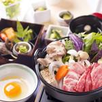 四季彩 ミズノ - すき焼き御膳2800円