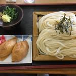 手打うどん 町川 - ざるうどん大(*´д`*)400円