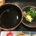 手打うどん 町川 - 出汁と薬味はトモダチ