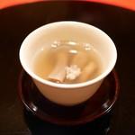 にくの匠 三芳 - 先付 生姜湯