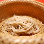 にくの匠 三芳 - 二八の蕎麦