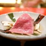 にくの匠 三芳 - サーロインしゃぶしゃぶと丹波産松茸