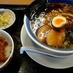 くいどころ里味 - ラーメンセット¥1030