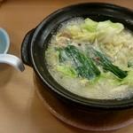 くいどころ里味 - 牛もつ鍋¥780
