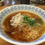 中華そば伴 - 生醤油ラーメン580円