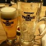uomori - グラスビール