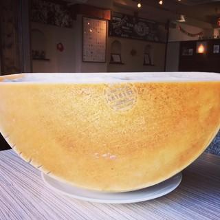 ポルチーニ茸のグラナパダーノチーズリゾット
