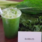 バブルス - グリーンジュース(ケール、小松菜ベース)
