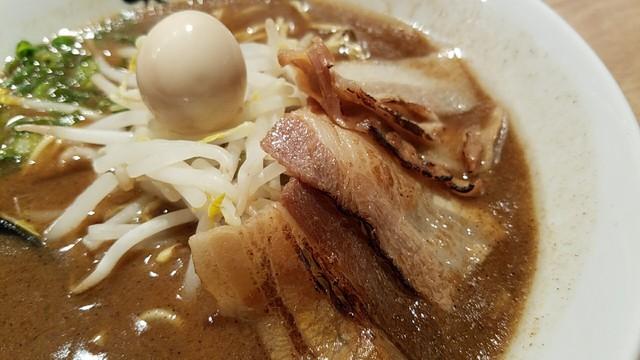 永斗麺 池袋店 - 炙り豚肉 2016.10