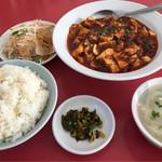 王林軒 - ランチ マーボ豆腐定食