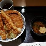 日本橋 からり  - 彩り天丼 1280円