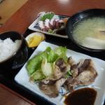 恵美福 - 牛カルビ定食