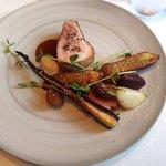 レストラン マノワ - 山形豚ロース肉(2016.10)