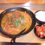 ラー麺マン - ラーメンマン定食