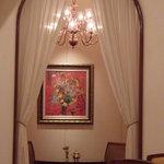 ロイヤルクリスタルカフェ - 可愛く仕切られた小部屋