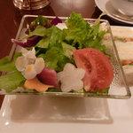 ロイヤルクリスタルカフェ - サラダ