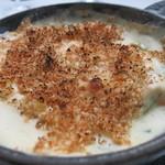 マーサーブランチ - ストウブ鍋 サーモンとホウレン草 クリーム煮込み