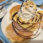 Hawaiian Pancake Factory - バナナチョコ(ホイップ2倍)