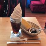 コメダ珈琲店 - ドリンク写真:クリームコーヒー520円(税込)