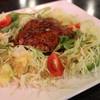 スイングヴィル - 料理写真:野菜畑のハンバーグセット