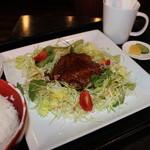 スイングヴィル - 野菜畑のハンバーグセット