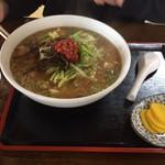さんちゃ(茶茶茶) - 料理写真:みそラーメン(H28.10.22)