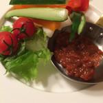 鉄燻CHOI URASAN - 燻製味噌マヨ野菜スティック