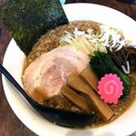 58426670 - TOKYO醤油煮干背脂ラーメン850円