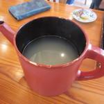 蕎麦 孤丘 - 蕎麦湯
