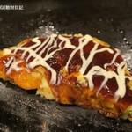 お好み焼本舗 - 料理写真:ミックス玉(海老、豚、いか)