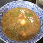 無鉄砲つけ麺無極 - Wスープつけ汁