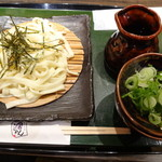 宮きしめん竹三郎 - ざるきしめん