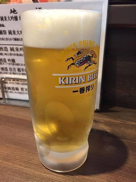 あまや - JR尼崎はキリンでもつ。一番搾りで乾杯☆