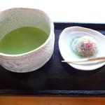 汐入亭 - 抹茶+和菓子