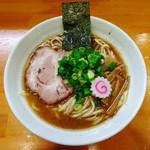 麺 まる井 - らーめん(特濃)