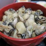漁師の海鮮丼 - 牡蠣丼1