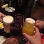 58434193 - ビール・サングリア