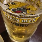 味雅軒 - 生ビール☆一番搾り と思う たぶん 笑