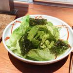 松庵 - 韓国のりサラダ