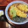 満留賀 - 料理写真:いか天ぷらそば