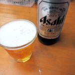 魚介 - ビール大瓶399円+税