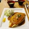 南自由軒 - 料理写真:オムライス定食 味噌汁付き 750円
