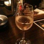 アジアンビストロ Dai たまプラーザ店 - ハウスワイングラス 300円