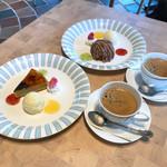ラグーナの森 - ドリンクセット ケーキ1品とコーヒーor紅茶 税込980円