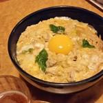鳥蔵 - まさに至福の「天草大王の親子丼 (650円)」