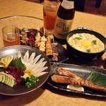 鳥蔵 - 料理写真:天草の「鳥蔵」さんで、天草大王を食べつくし♪